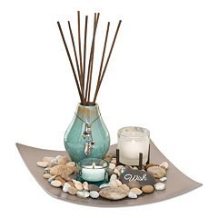 San Miguel Sea Grass & Lotus Reed Diffuser 5-piece Set