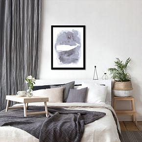 Americanflat Whale Framed Wall Art