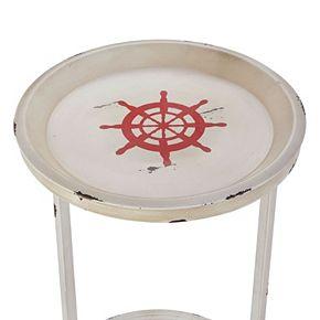 Linon Nautical Nested Table 3-piece Set