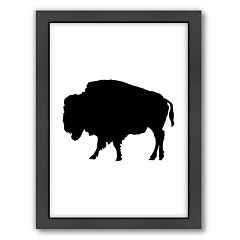 Americanflat Buffalo Framed Wall Art