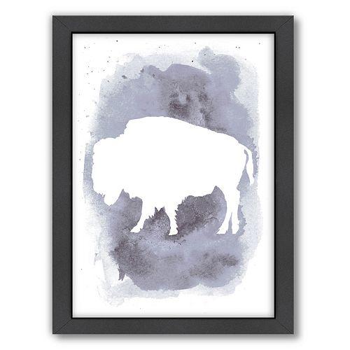 Americanflat Buffalo Framed Wall Art