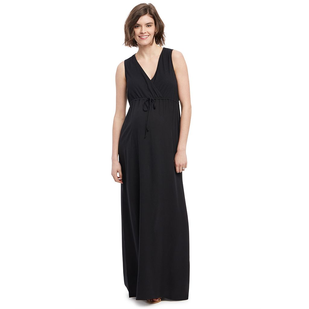 Maternity Oh Baby by Motherhood™ Surplice Maxi Dress