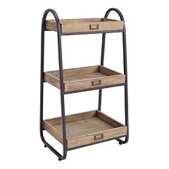 Linon Tiered Storage Stand
