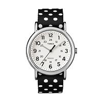 Timex Women's Weekender Polka Dot Reversible Watch - TW2P86600JT