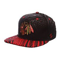 Adult Chicago Blackhawks Kahuku Adjustable Cap