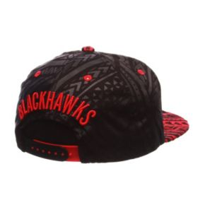 Adult Chicago Blackhawks Kahuku Adjustable Cap