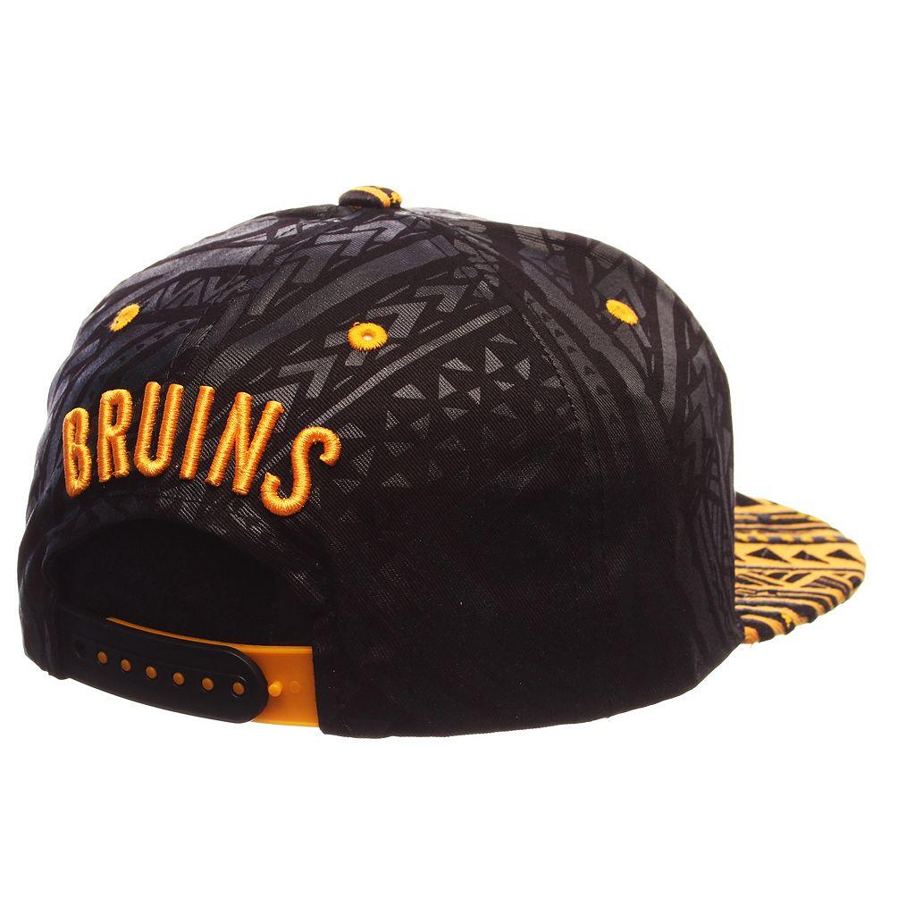 Adult Boston Bruins Kahuku Adjustable Cap