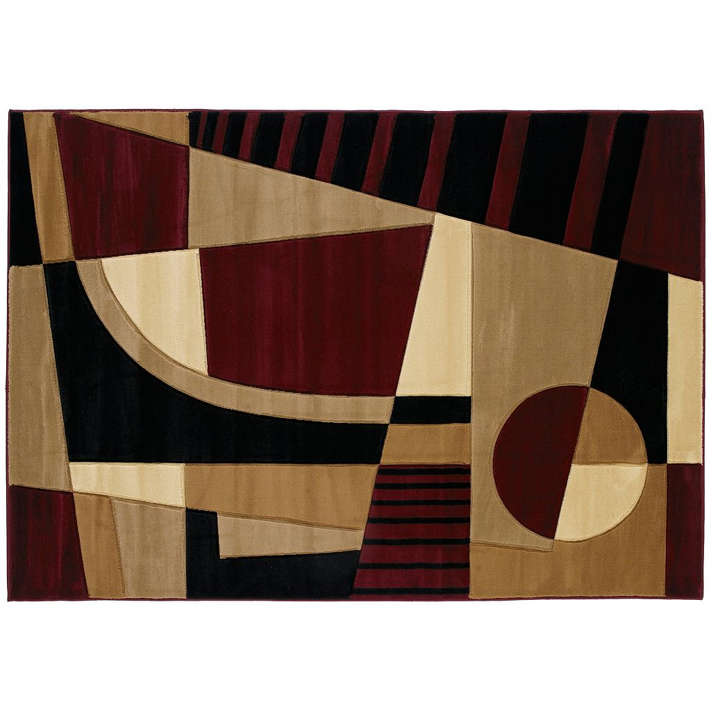 United Weavers Contours Urban Angles Geometric Rug