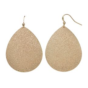 SONOMA Goods for Life? Textured Teardrop Earrings