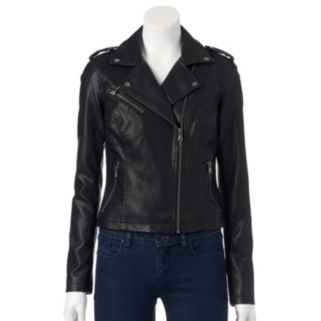 Women's Levi's Classic Faux-Leather Motorcycle Jacket
