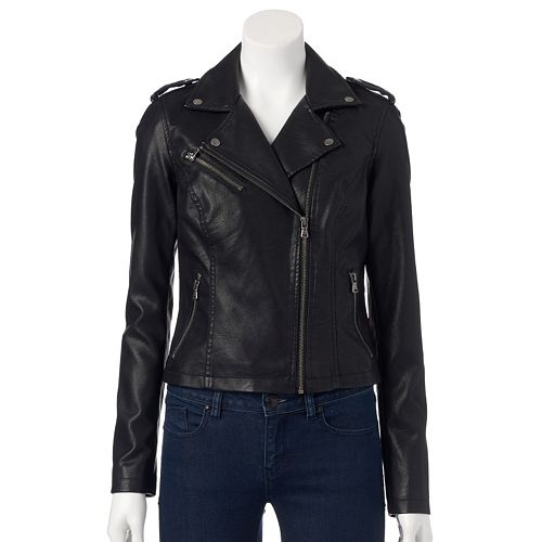 755ee0e14 Women's Levi's Classic Faux-Leather Motorcycle Jacket