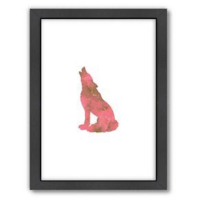 Americanflat Wolf Framed Wall Art