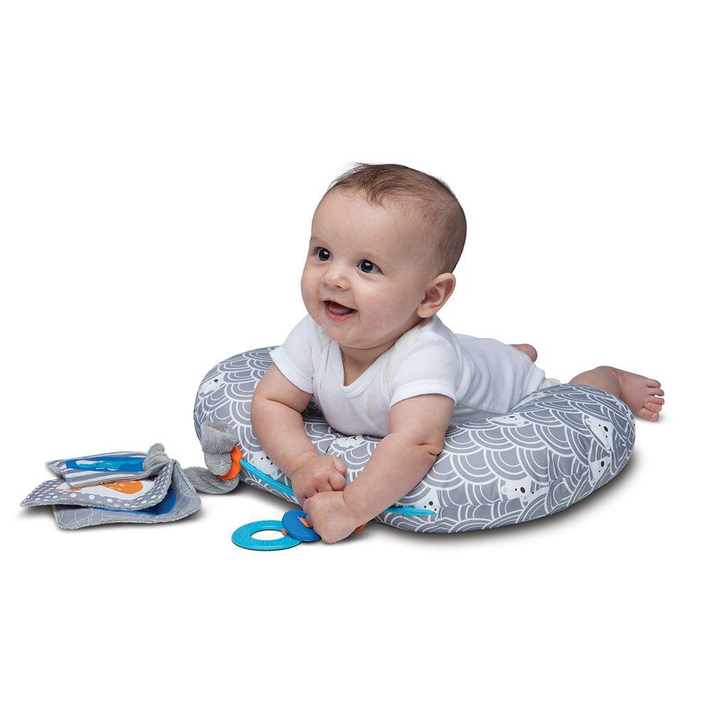 Boppy Sideline Activity Mini Tummy Time Pillow