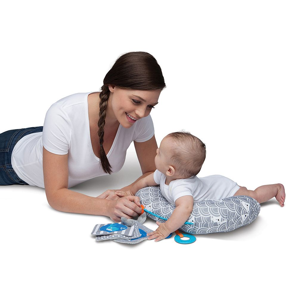 Boppy Sideline Activity Mini Tummy Time Pillow