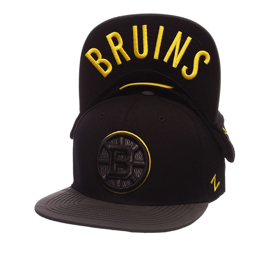 Adult Boston Bruins Nightfall Adjustable Cap