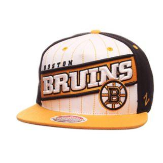 Adult Zephyr Boston Bruins Recharge Snapback Cap