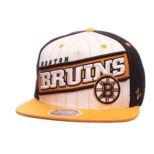 Adult Zephyr Boston Bruins Recharge Snapback Cap