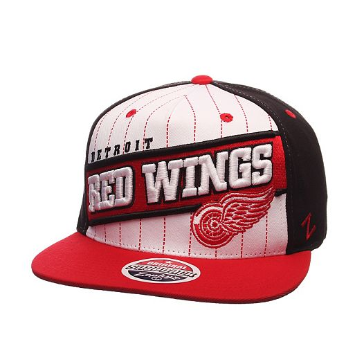 Adult Zephyr Detroit Red Wings Recharge Snapback Cap