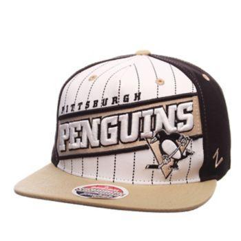 Adult Zephyr Pittsburgh Penguins Recharge Snapback Cap
