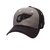 Adult Zephyr Detroit Red Wings Night Game Stretch-Fit Cap