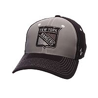 Adult Zephyr New York Rangers Night Game Stretch-Fit Cap