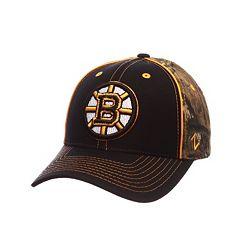 Adult Boston Bruins Hideaway Adjustable Cap