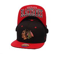 Youth Zephyr Chicago Blackhawks Undercard Snapback Cap