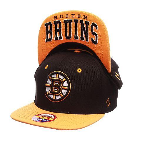 Youth Zephyr Boston Bruins Undercard Snapback Cap