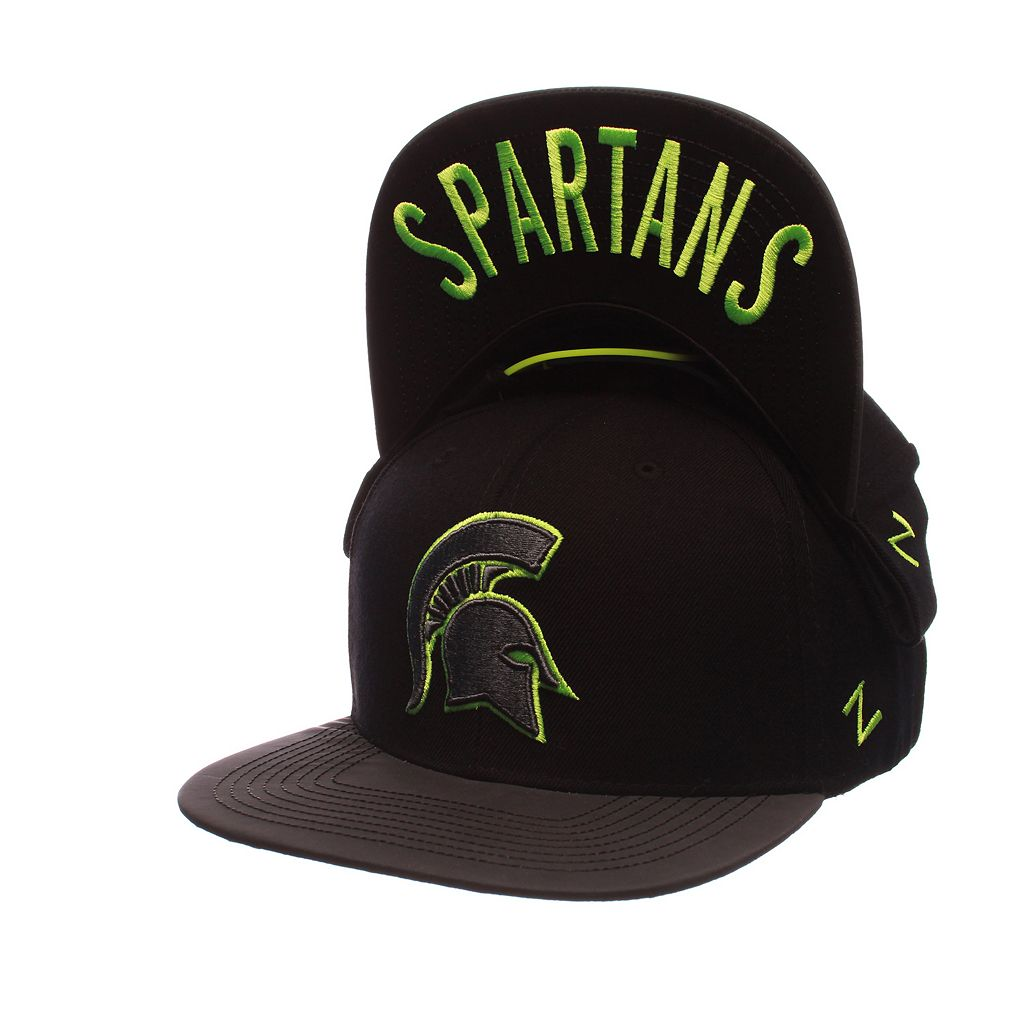 Adult Michigan State Spartans Nightfall Adjustable Cap