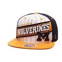 Adult Zephyr Michigan Wolverines Recharge Snapback Cap