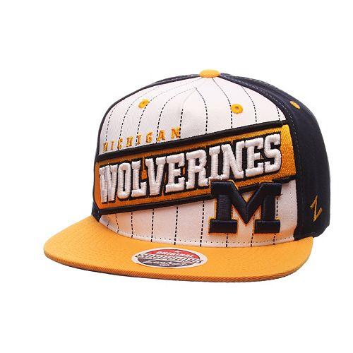 Adult Zephyr Michigan Wolverines Recharge Snapback Cap