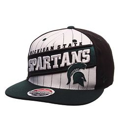Adult Zephyr Michigan State Spartans Recharge Snapback Cap