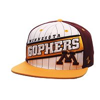 Adult Zephyr Minnesota Golden Gophers Recharge Snapback Cap