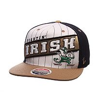 Adult Zephyr Notre Dame Fighting Irish Recharge Snapback Cap