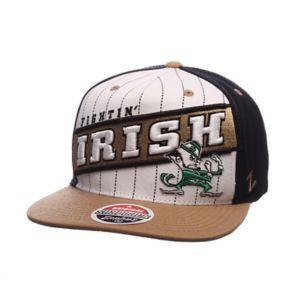 Adult Zephyr Notre Dame Fighting Irish Recharge Snapback Cap