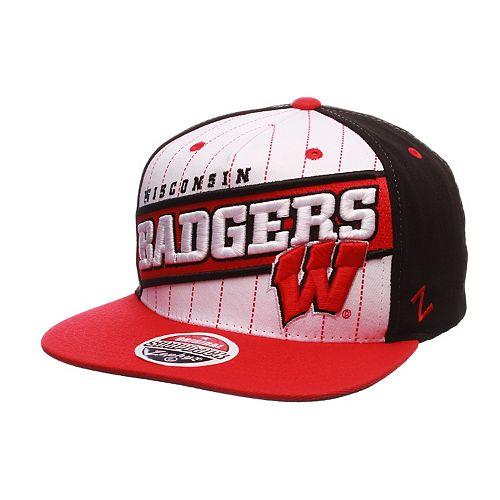 Adult Zephyr Wisconsin Badgers Recharge Snapback Cap