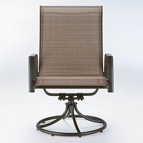 Sonoma Goods For Life Coronado Swivel Sling Patio Chair 2 Piece Set Kohls