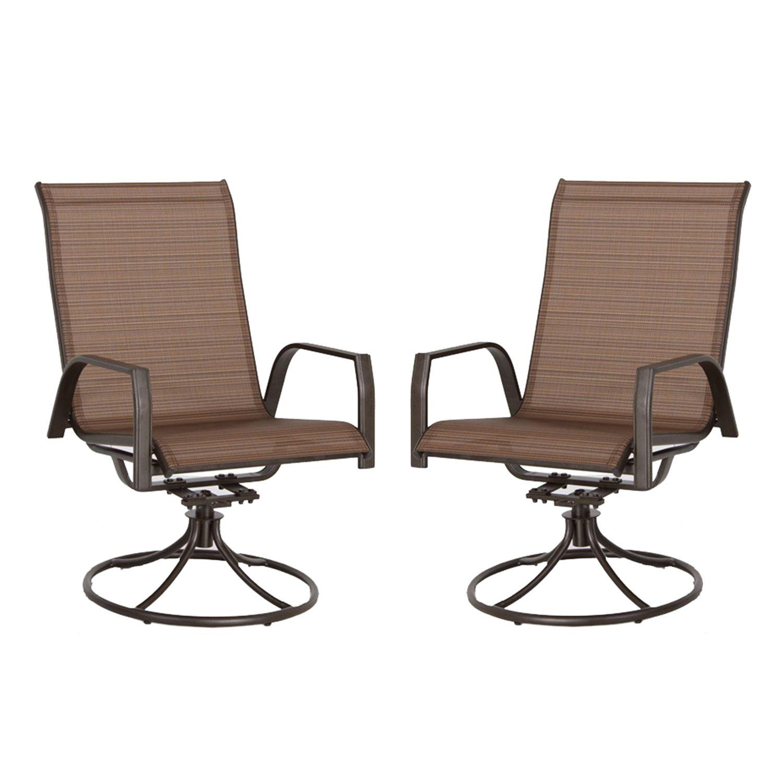Sonoma Goods for Life 2 Piece Coronado Swivel Sling Patio Chair