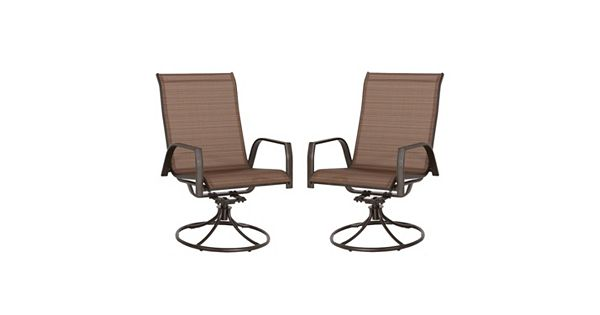 Sonoma Goods For Life Coronado Swivel Sling Patio Chair 2 Piece Set