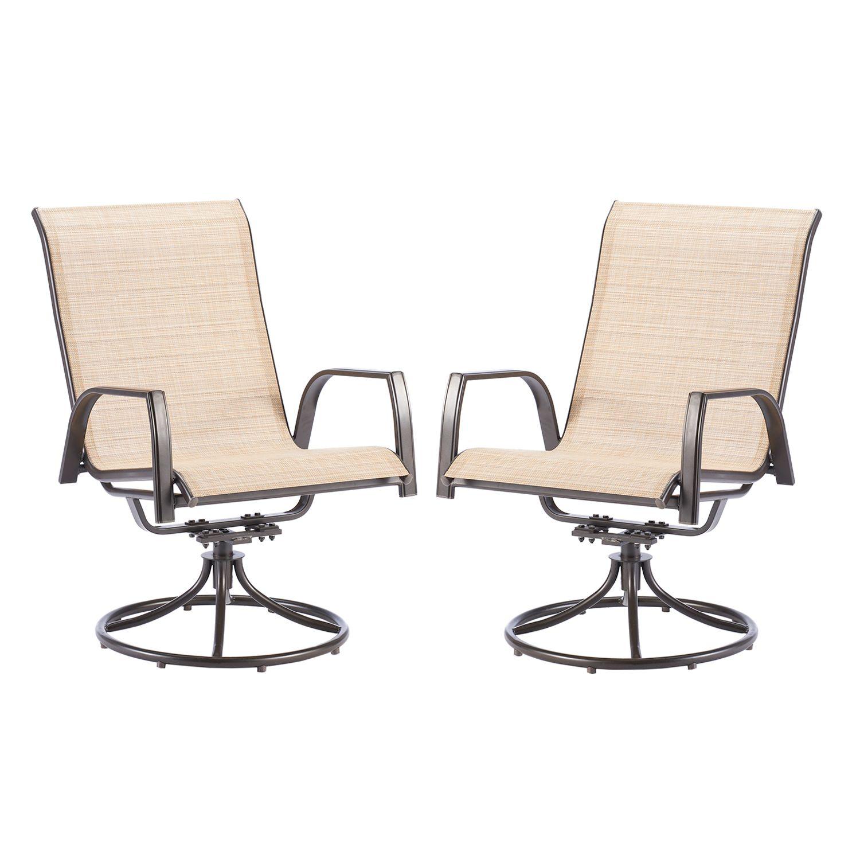 sonoma goods for life coronado swivel sling patio chair 2 piece set rh kohls com Sling Swivel Patio Chairs Parts Sling Swivel Rocker Patio Chairs