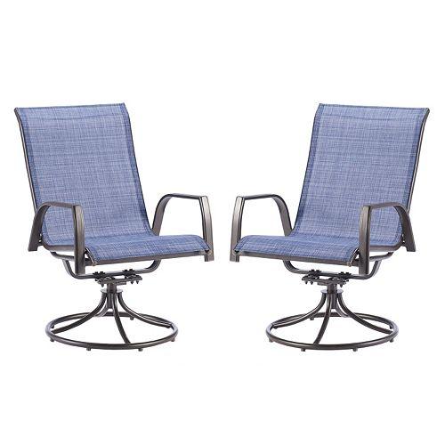 Sonoma Goods For Life 174 Coronado Swivel Sling Patio Chair 2