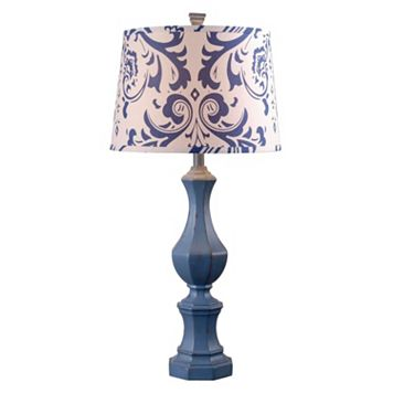 Kenroy Home Navy Gianni Table Lamp
