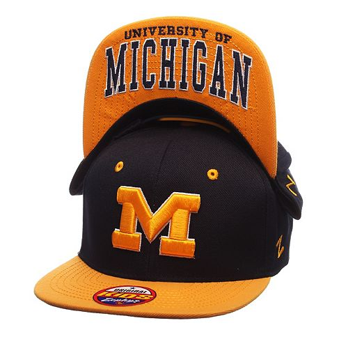 Youth Zephyr Michigan Wolverines Undercard Snapback Cap