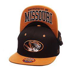 Youth Zephyr Missouri Tigers Undercard Snapback Cap