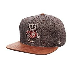 Adult Wisconsin Badgers Dapper Adjustable Cap