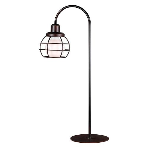 Kenroy Home Caged Table Lamp