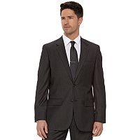 Men's Apt. 9 Slim-Fit Gray Herringbone Suit Jacket