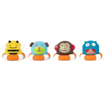 Skip Hop Zoo 8-pc. Bath Squirties
