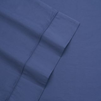 Grand Collection Hemstitch Solid 325 Thread Count Sheet Set