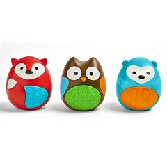 Skip Hop Explore & More 3 pc Egg Shaker Trio